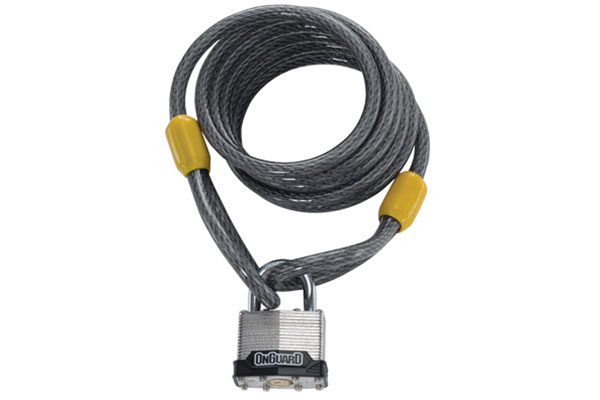 seasucker cable anchor cable lock combo
