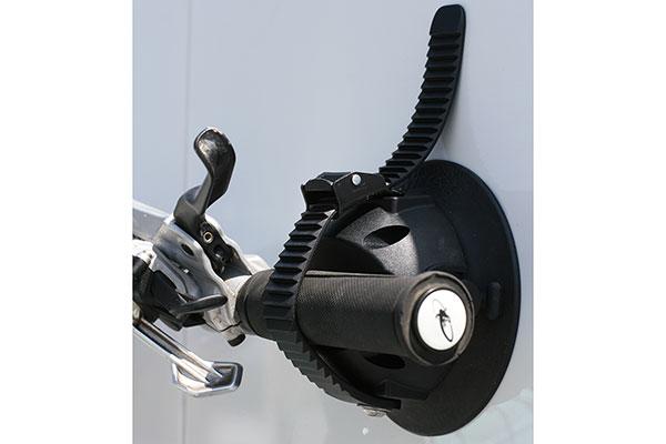 seasucker hornet bike rack installed