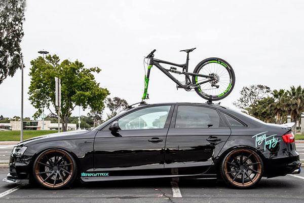 seasucker talon bike rack lifestyle audi a4