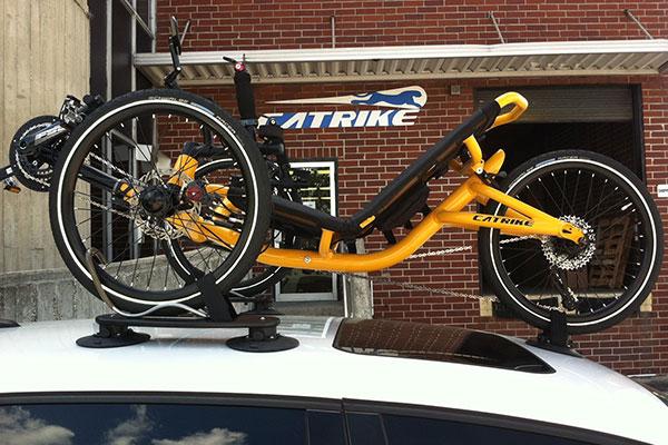 seasucker trike bike rack lifestyle