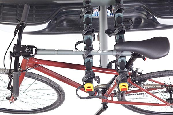 softride top tube adapter in use above
