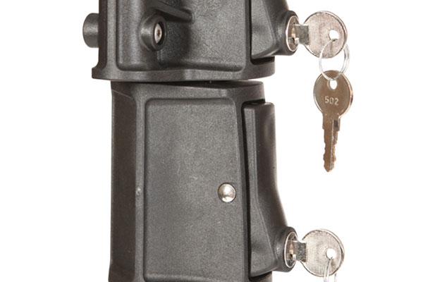 swagman chinook hitch mount bike rack lock