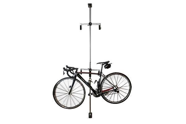 swagman hang it bike storage rack installed