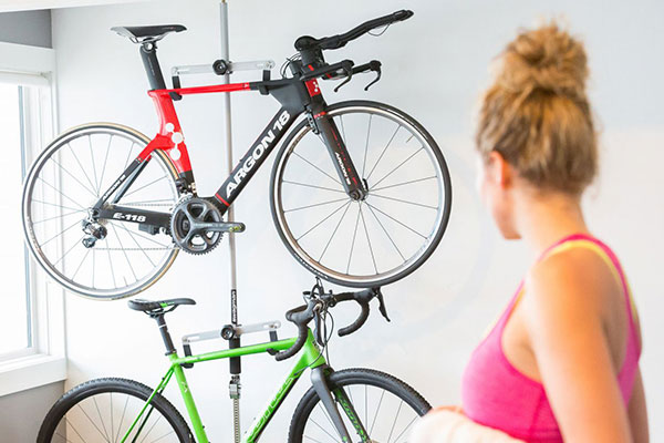 swagman hang it bike storage rack lifestyle