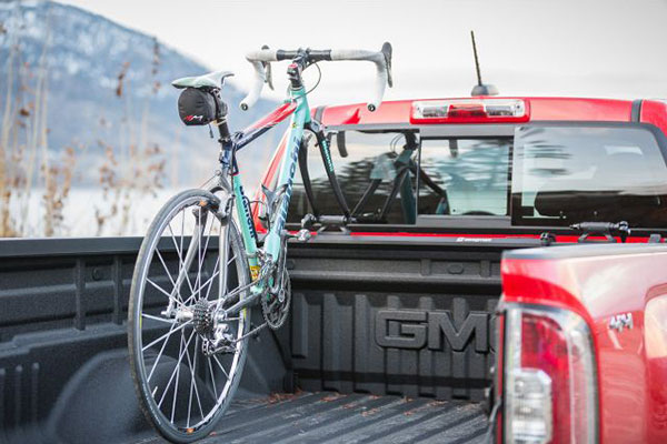 swagman patrol truck bed bike rack lifestyle