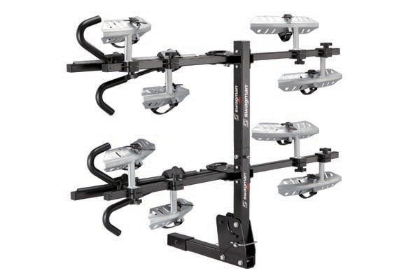 swagman quad platform bike rack folded