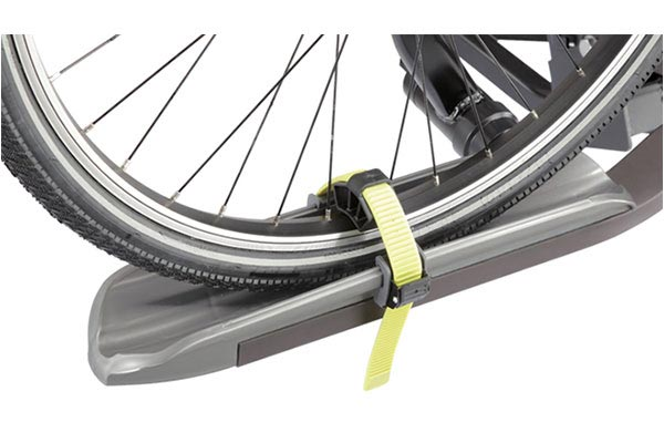 swagman semi platform bike rack closeup tire