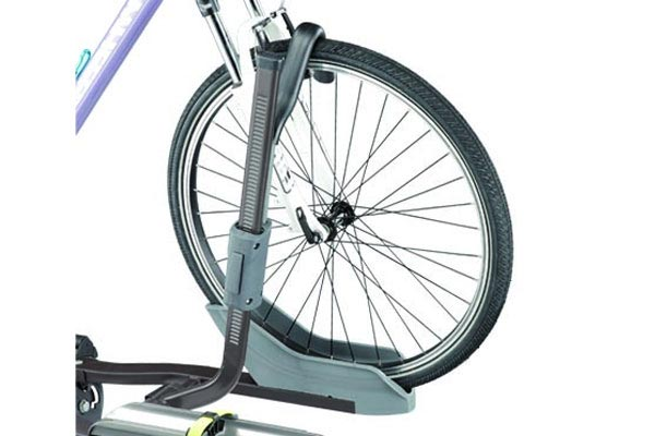 swagman semi platform bike rack front tire