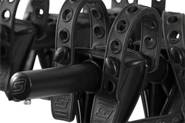 swagman trailhead hitch mount bike rack tie down