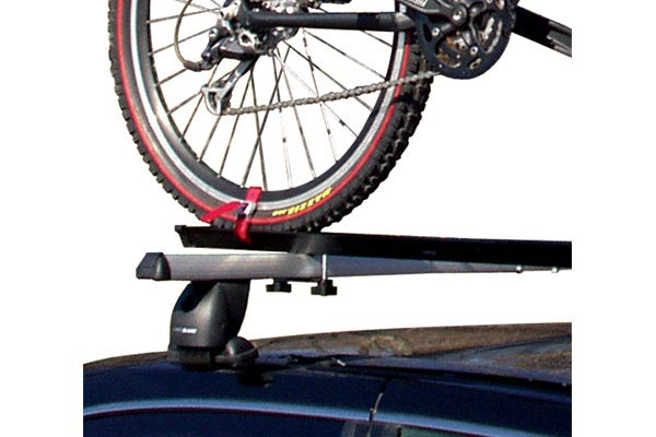 Swagman Upright Roof Bike Rack; Swagman Upright Secures One Bicycle To Your  Crossbars
