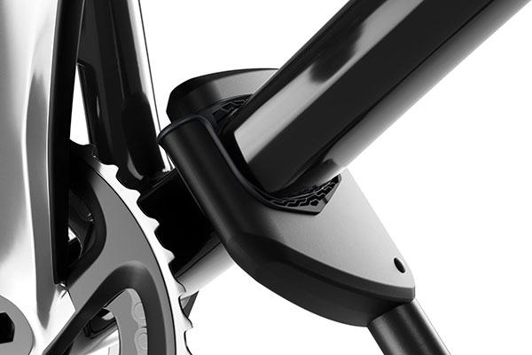 thule proride roof mount bike rack grip