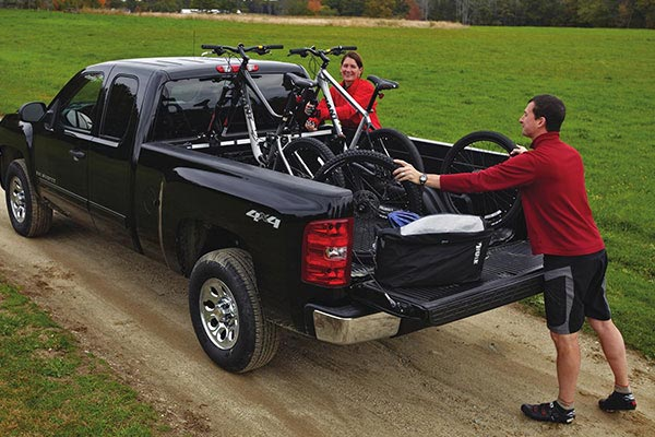 thule bed rider truck bed bike rack related 2