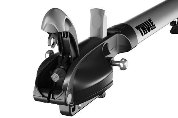 thule paceline 527 fork mount roof bike rack latch open