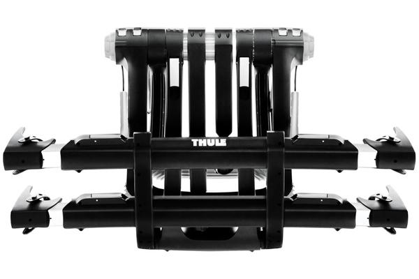 thule raceway platform 9003pro trunk mount bike rack folded storage