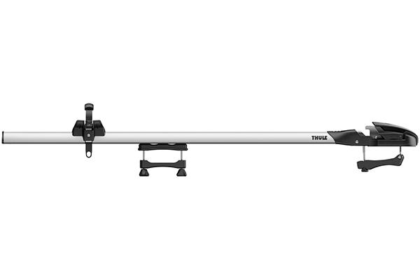 thule thruride 535 fork mount roof bike rack profile