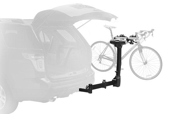 vertex swing hitch bike rack swing