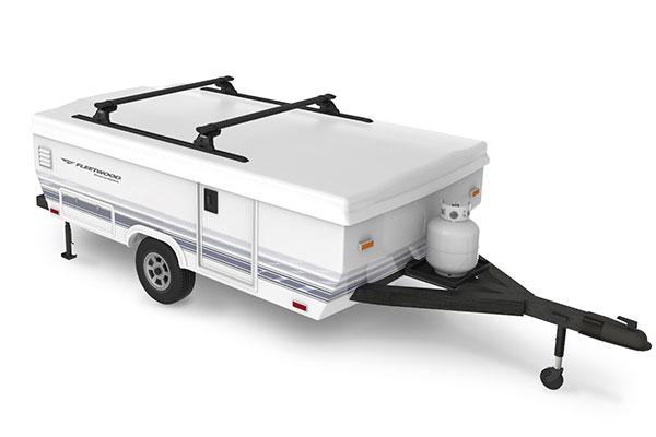 yakima camper shell base rack system camper