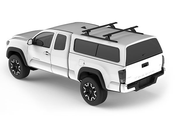 yakima camper shell base rack system truck