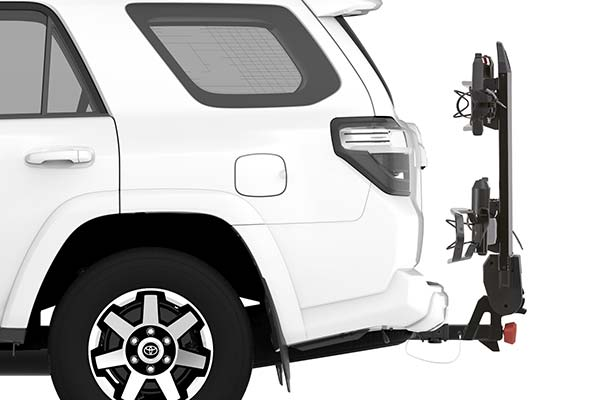 yakima drtray hitch mount bike rack installed suv