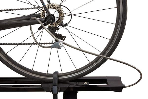 yakima highspeed fork mount bike rack lock