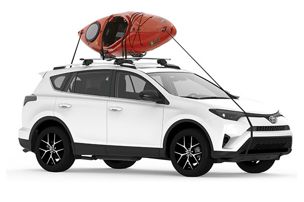yakima jayhook kayak rack installed