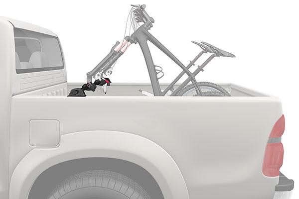 yakima biker bar truck bed bike rack 4