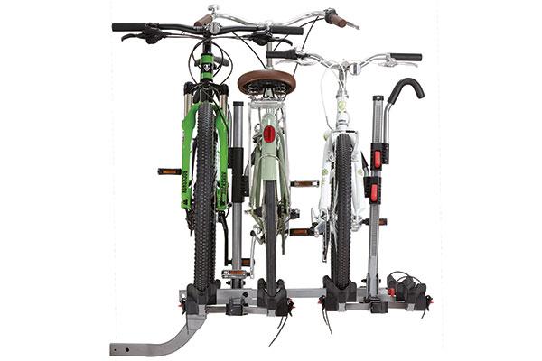 yakima fourtimer hitch mount bike rack four bikes