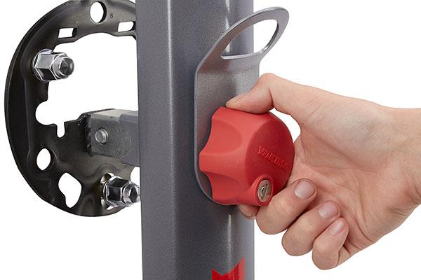 yakima spareride spare tire bike rack speed knob