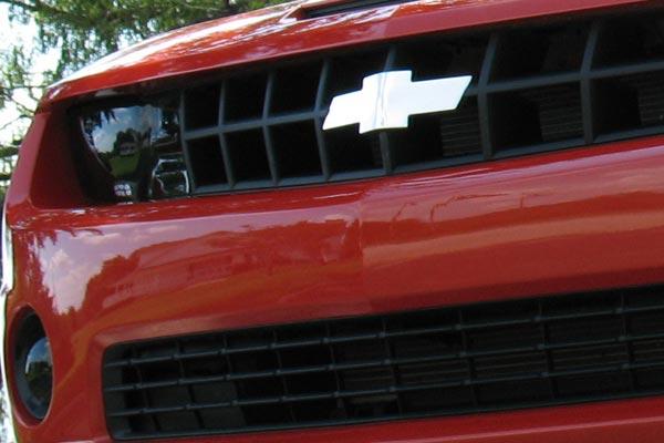 Bowtie Front Grille Emblem  2010 Camaro