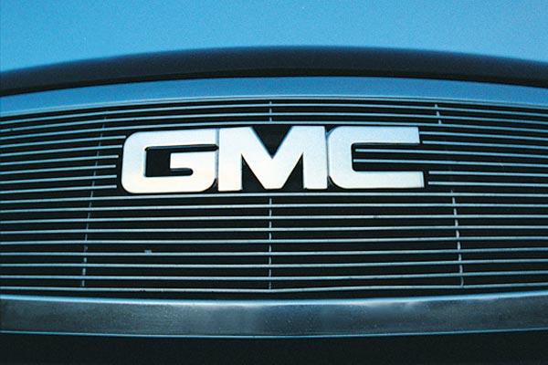 GMC Front Grille Emblem