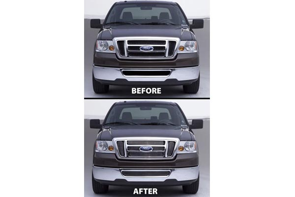 carriage works billet grille before after