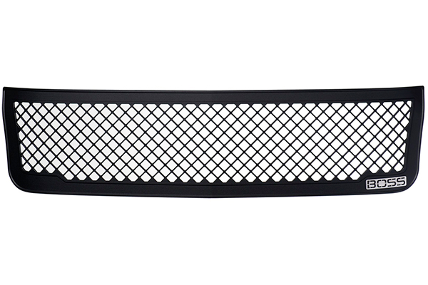 putco boss mesh grilles off vehicle