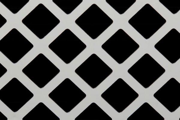 putco diamond bumper grille close up