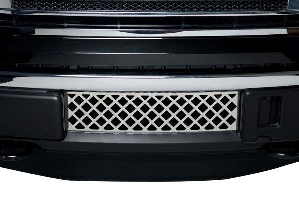 putco diamond bumper grille front view