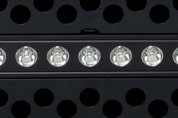 putco luminix led punch bumper grille close