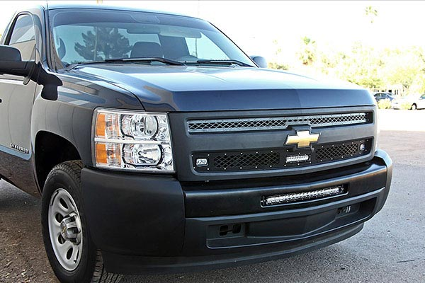 rigid industries led mesh grilles chevrolet 1500
