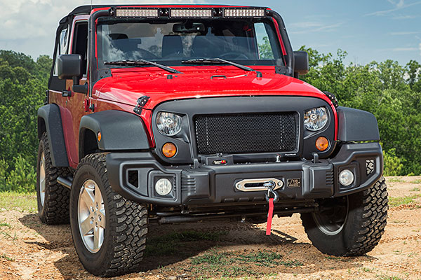 rugged ridge spartan grille lifestyle
