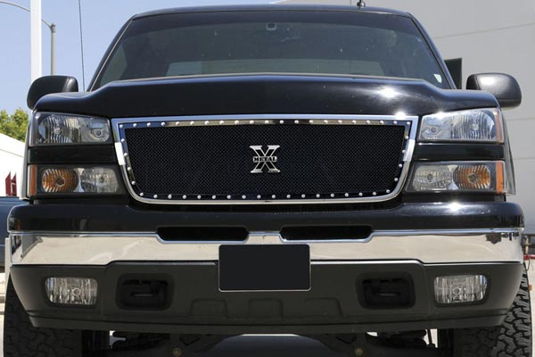trex xmetal studded mesh grille chevy