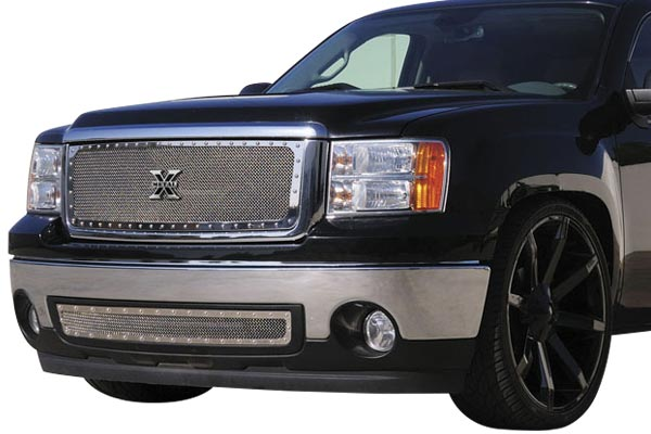 trex xmetal studded mesh grille truck