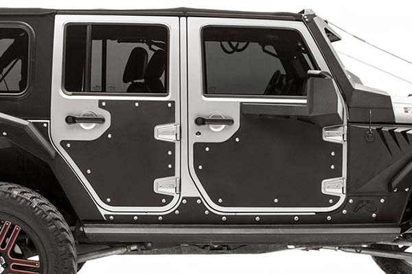 fab fours jeep door skin detail