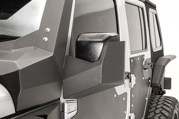 fab fours jeep mirror guard front