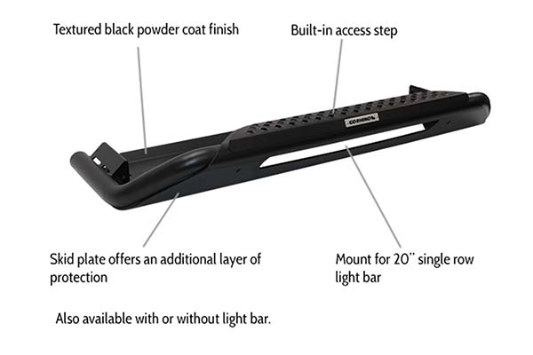 Go Rhino RC3 LR Skid Plate features and benefits