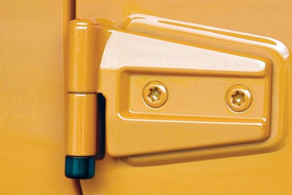 mcgard anti theft jeep door locks installed