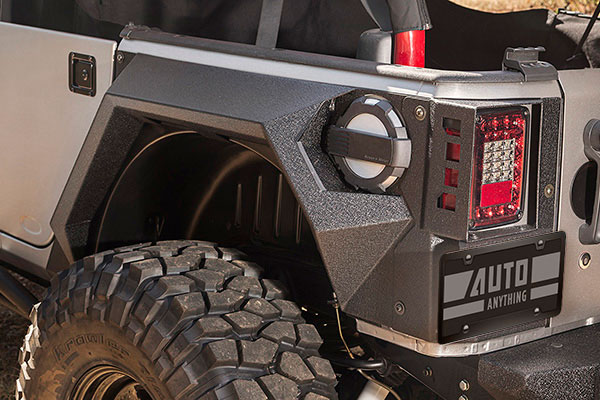 rugged ridge xhd armor fenders detail 2