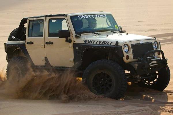smittybilt xrc armor rock guards sand dune lifestyle