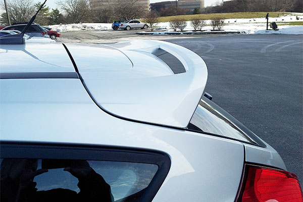 5731 3d carbon spoilers ford focus