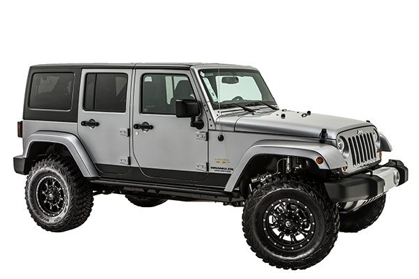 ici rocker armor rocker panels installed wrangler
