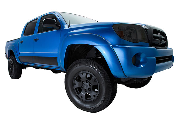 ici u cut universal rocker armor installed tacoma