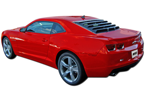 mach speed inc  abs rear window louvers 1