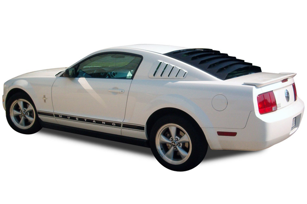Mach 5 speed racer car for 1970 mustang rear window louvers